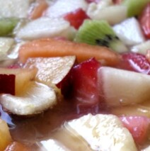 Salade de fruits, jolie, jolie… !